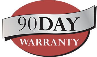 HMP 90 Day Warranty Badge
